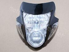 Bike Head Light Fairing Dual Street Fighter Turn Signal Lamp Kawasaki Suzuki KTM