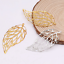 30PCS hollow metal tree leaf flower piece pendant Headwear hairpin accessories