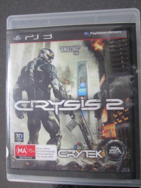 Crysis 2 PS3 Game