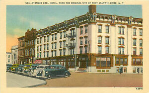 Image Is Loading Rome Ny Stanwix Hall Hotel Linen P C