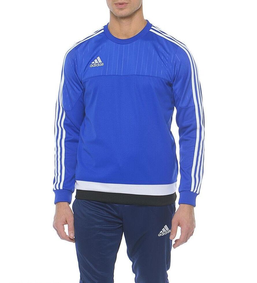 Adidas Tiro 15 Training Top Mens Sweatshirt bluee Adidas S22425 New Authentic