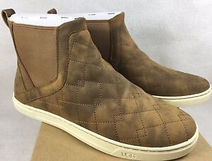 Image is loading UGG-Australia-Hollyn-Deco-Quilt-Lined-High-Top-