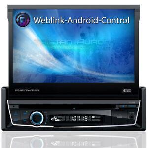 Autoradio-mit-Navi-Navigation-Bluetooth-Touchscreen-DAB-DVD-CD-USB-SD-1DIN-GPS