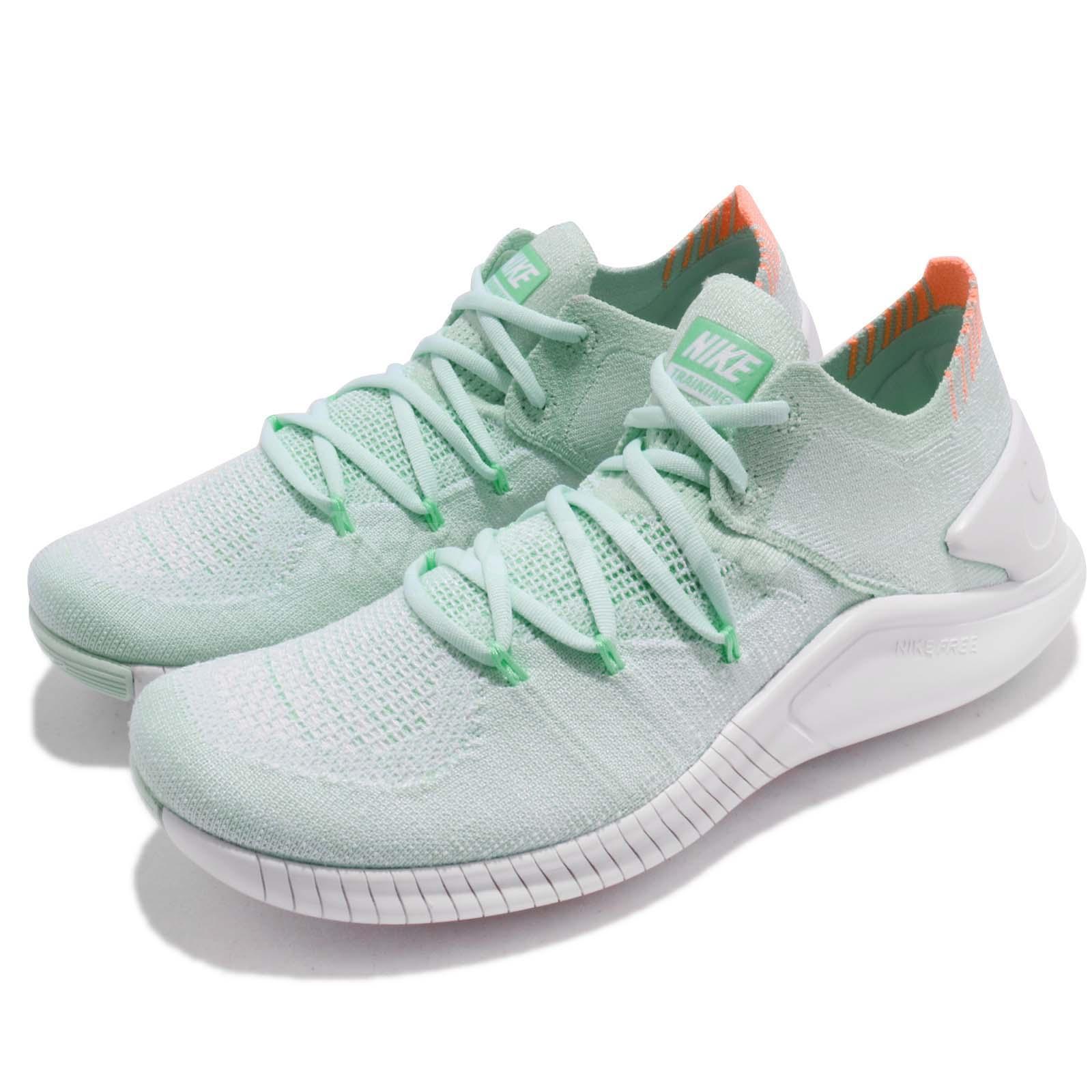 Nike Wmns Cross Free TR Flyknit 3 Igloo Green Women Cross Wmns Training Shoes 942887-301 66c7fe