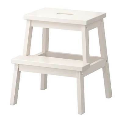 Ikea Step Stool Bekvam In White Sitzhhock Steps Stool Stool Wood
