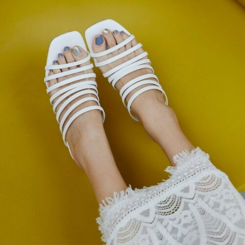 Details about  /Chunky Heels Peep Toe Women/'s Ladies Shoes Sandals Pumps Party Hollow Out Date D