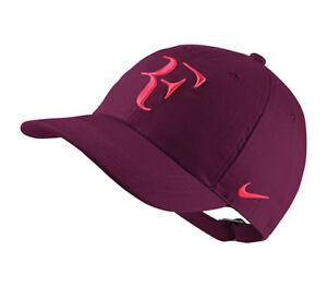 b7ac7c477d4e0 New Nike RF Aerobill H86 Cap Roger Federer Hat Tennis Dri Fit AH6985 ...