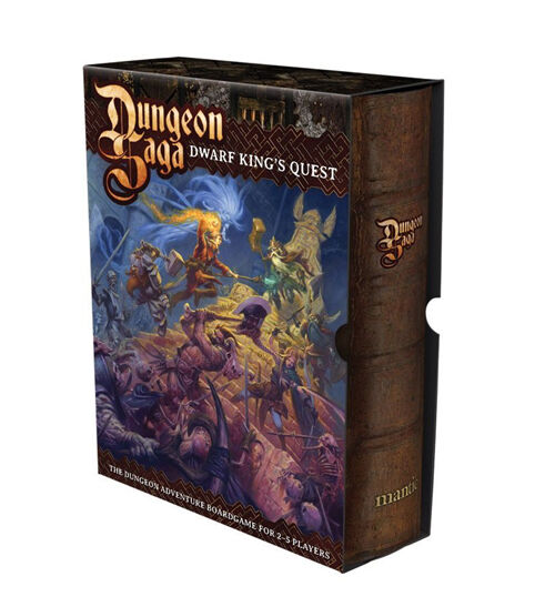 Dungeon Saga The Dwarf King's Quest Boxed Boxed Boxed Game Mantic Games NEW f1e920