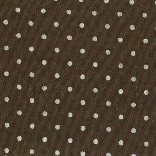 Fabric Freedom Tiny 2mm Spots Polka Dots 100/% Cotton Poplin Fabric