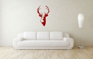 Beautiful-Stag-Startled-Head-Stencil-A4-A3-A2-A1-A0-350-micron-STAG012