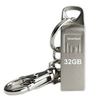 Strontium AMMO Silver USB 2.0 Flash Drive 32GB ( SR32GSLAMMO )