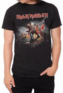 Iron-Maiden-The-Trooper-T-Shirt-Mens-Tee-Rock-Licensed-amp-Official-XS-3XL-NWT