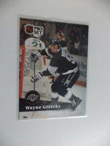 1991-PRO-SET-WAYNE-GRETZKY-KINGS-101