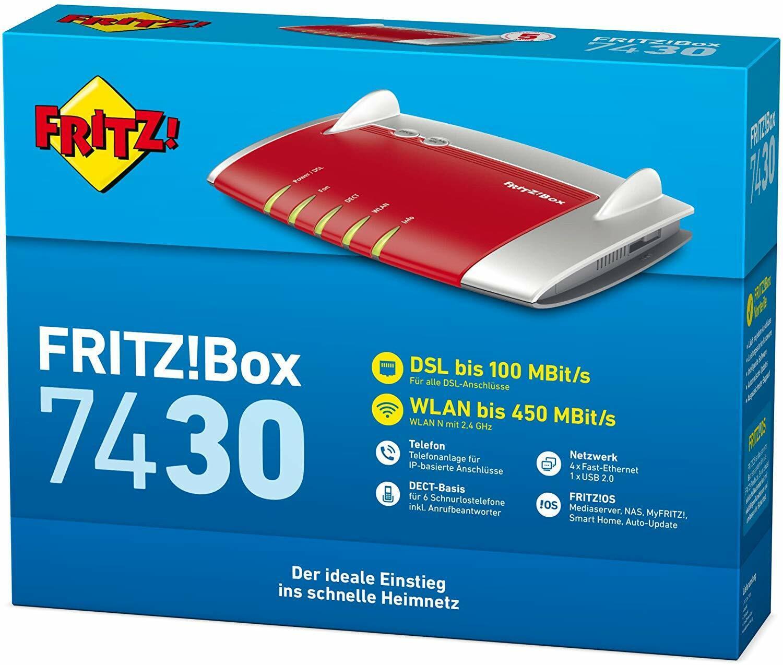 AVM FRITZBox 20 20 Mbps 20 Port Router 20 online kaufen ...