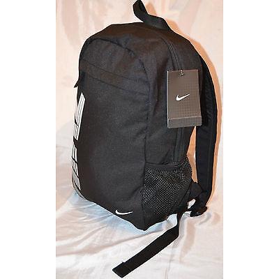 NIKE Boys/Girls Unisex Backpack Rucksack School Bag 19 Litere Adult Black