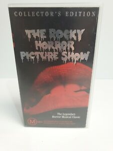 Vintage-The-Rocky-Horror-Picture-Show-Collector-039-s-Edition-VHS-Tape-Cassette
