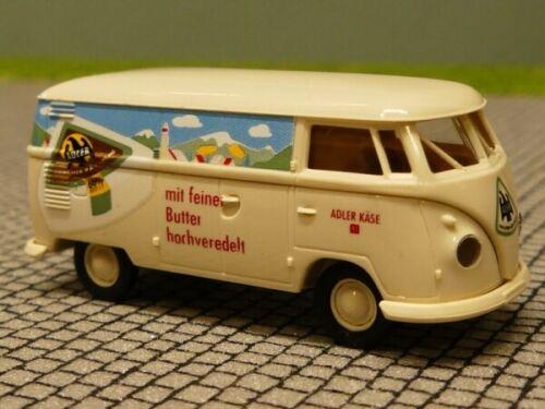 1//87 Brekina # 1217 VW T1 b K ADLER Käsecreme Sondermodell Reinhardt