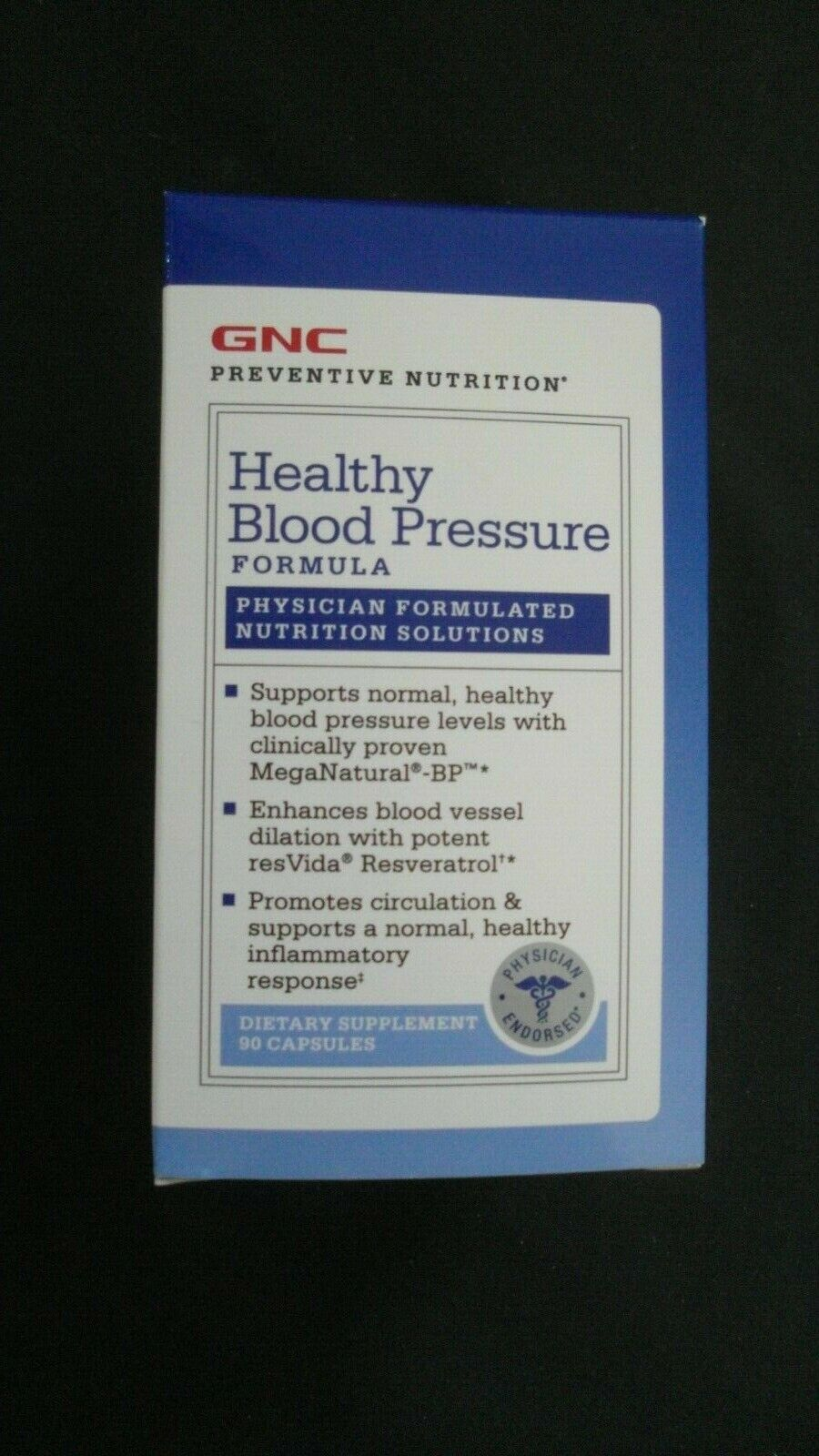 Gnc Preventive Nutrition Healthy Blood Pressure 90 Capsules For