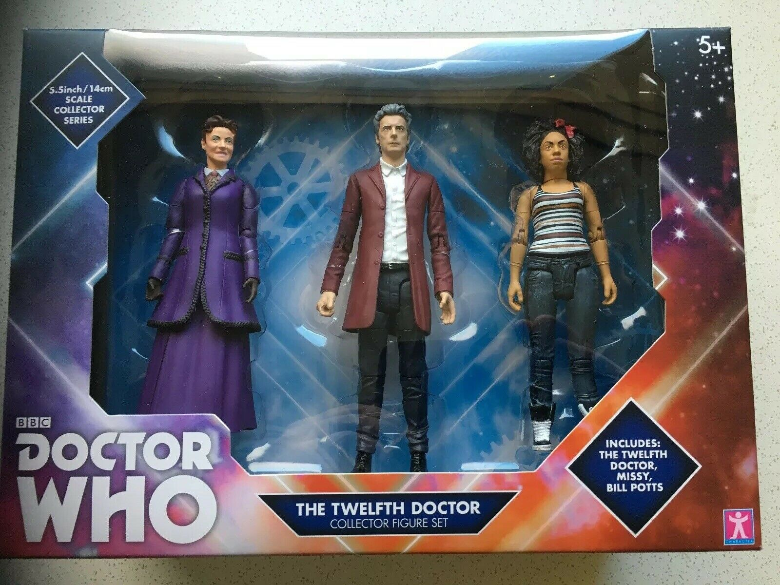 2019 Version Doctor Who The 12th Twelfth Doctor Collector Figure Set B&M