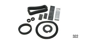 1955 1956 Chevy Chevrolet Bel Air, Nomad, 210 #322 HEATER SEALS Deluxe Kit - New