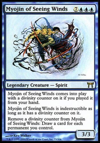 ▼▲▼ Myojin des Vents témoins Myojin of Seeing Winds guerriers #75 VF Magic