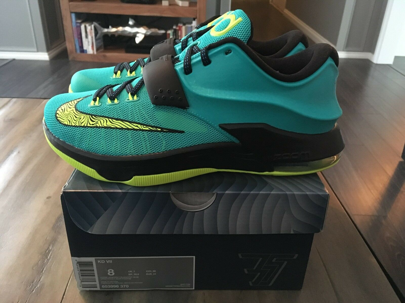 Nike KD 7 VII Uprising Kevin Durant    Size 8 Nike Basketball shoes Sneakers New b37cd1