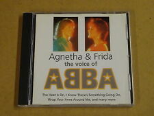 CD / AGNETHA & FRIDA ‎– THE VOICE OF ABBA