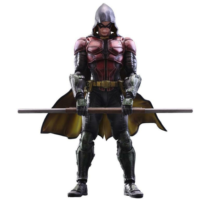 Officially Licensed DC Comics Arkham Knight Robin Play Arts Kai Action Figure