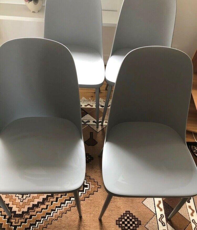 Spisebordsstol, Plast, Jysk – dba.dk – Køb og Salg af Nyt og