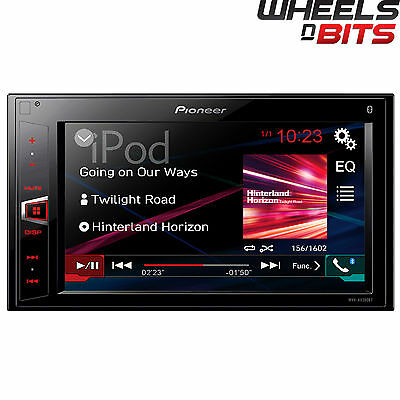 "Adaptable Pioneer Mvh-av280bt Double Din Mechless Receiver Ipod Bluetooth Usb 6.2"" Screen Nourishing The Kidneys Relieving Rheumatism"