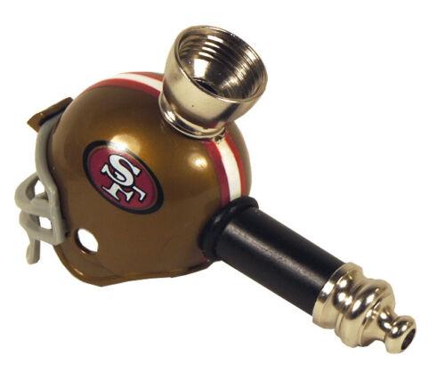 Football Helmet Smoking Pipe of NFL of San Francisco  49ers