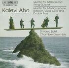 Kalevi Aho Qnt for Bassoon and String QRT Sinfonia Lahti Chamber Ensemble Audio
