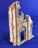 Verlinden 1/35 European City House Ruin Section [Resin Diorama Model kit] 2827