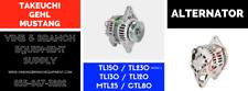 Premium Alternator Tl130 Tl120 Tl150 Tl230 Ser 1 Mtl25 Ctl80 Tl240