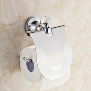 Image Is Loading Polish Chrome Toilet Paper Holder Bathroom Accessory Clear