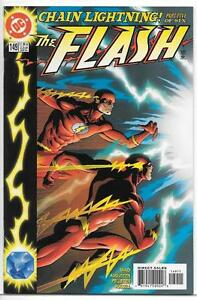 DC-Comics-The-Flash-1987-Series-149-NM-Chain-Lightning-5-Of-6