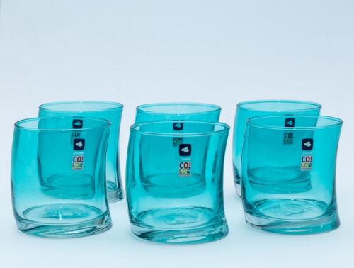 LEONARDO Swing 018017 Whisky Verre Gobelet Fabriqué en Allemagne Laguna//Bleu