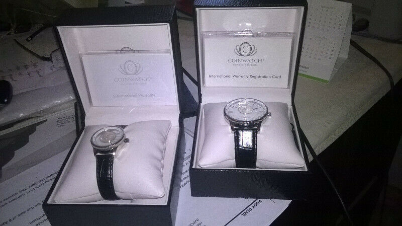 Mandela Silver Coined Watches