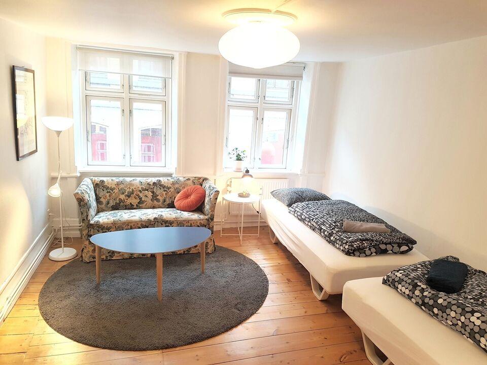 1209 2 vær. lejlighed, 62 m2, CITY CENTER Badstuestræde