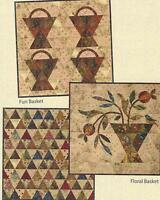 Scrappy Basket Trio Quilt Pattern By Edyta Sitar Of Laundry Basket Quilts
