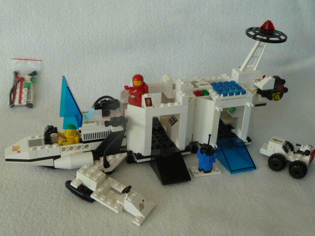 6783 Lego Legoland Raumfahrt Transmitting Cruiser (1986) – Guter Zustand