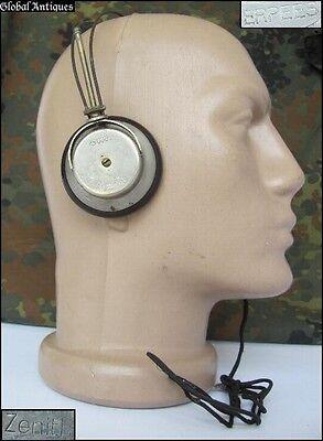 WWII ORIGINAL GERMAN RADIO HEADPHONES ERPEES ZENITH
