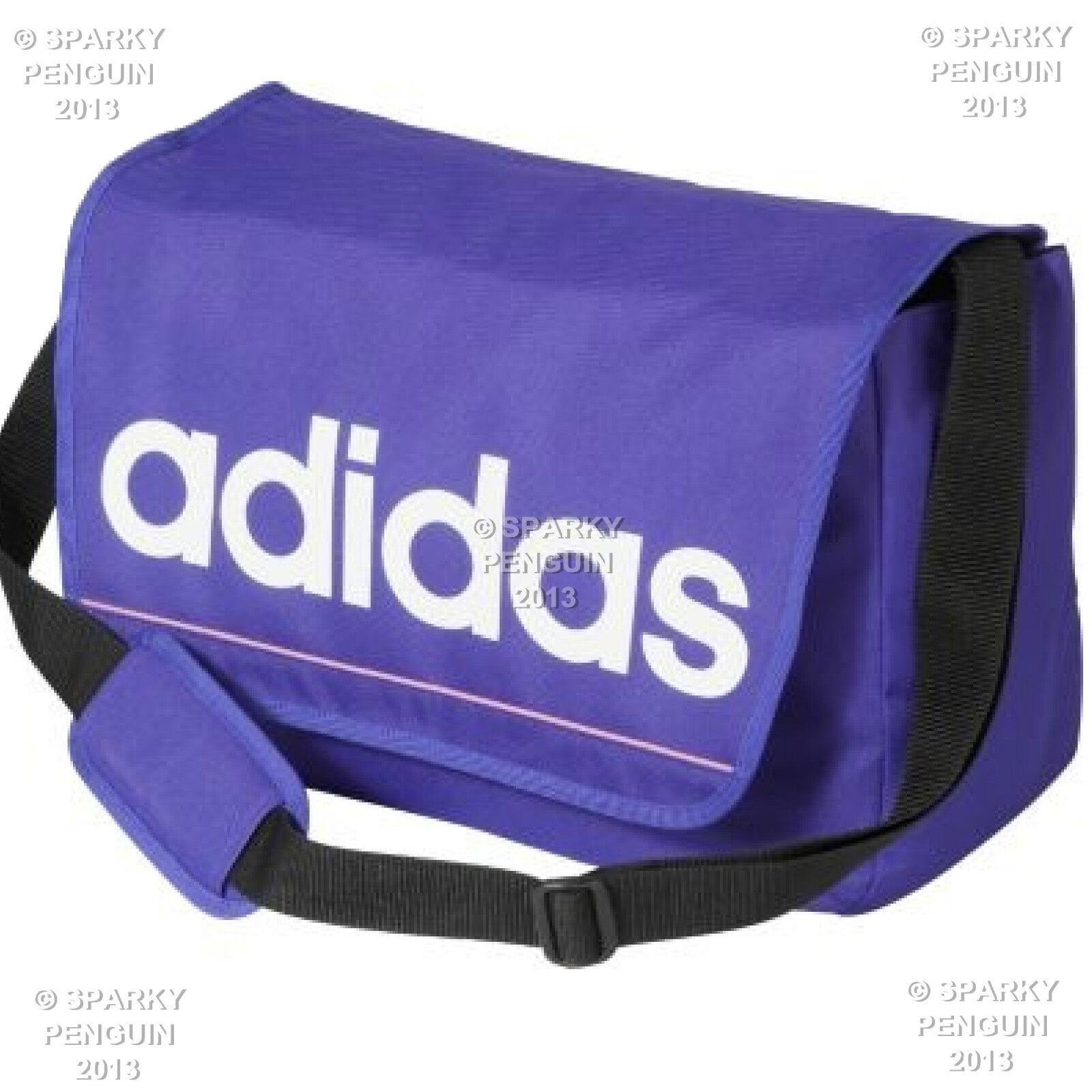 965b49590295 adidas Purple Satchel Bag Laptop School DISPATCH Student Messenger ...