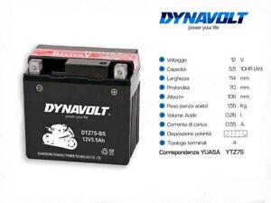 DTZ7S-BS-BATTERIE-DYNAVOLT-SYM-JET-SPORT-50-2006-2007-2008-2009-YUASA-YTZ7S