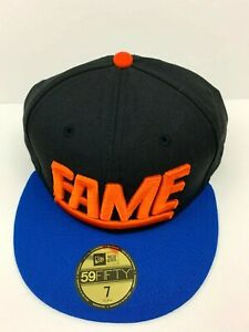 94d2283c5 Details about Hall Of Fame Cap 2nd Sucks Hat New Era Size 7 Unique  Embroidered 3D Logo Fitted