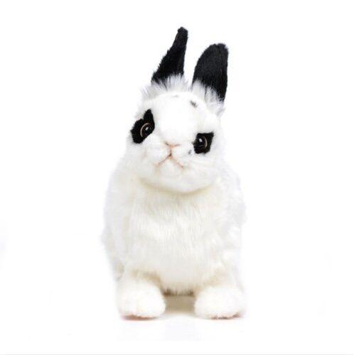 Miss oh Stuffed Plush Soft Toy Stofftier realistic Bunny Valentino 30cm