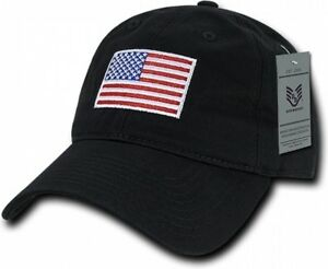 e03caf6fa2d Image is loading Black-American-Flag-Ball-Cap-Graphic-Relaxed-Patriotic-