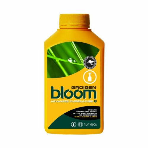 Advanced floricultura Bloom groigen 1L YB Amarillo Botella Potenciador orgánico