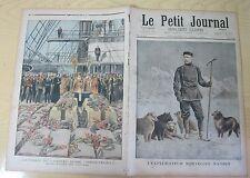 Le petit journal 1897 334 L'explorateur norvégien Nansen + vaisseau russe