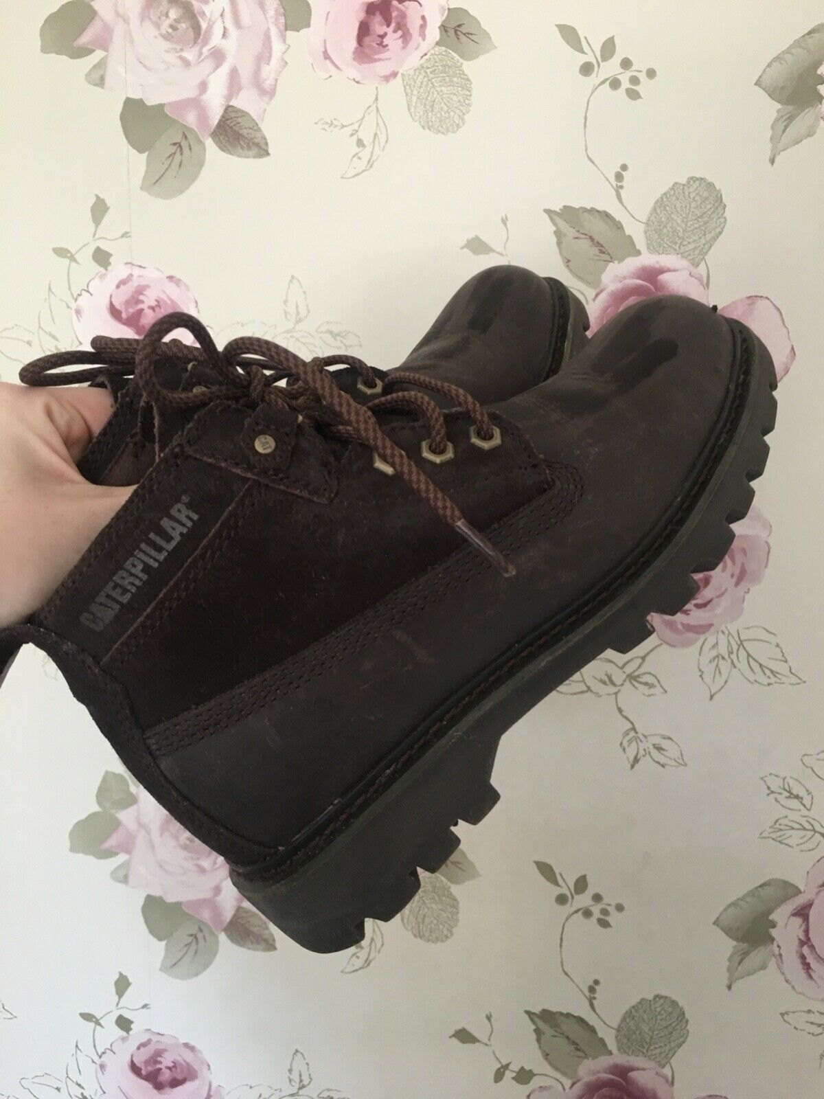 Brown Caterpillar Boots, Virtually new Size 6 6 6 45ad6d